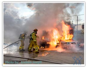 Photo: firefighters