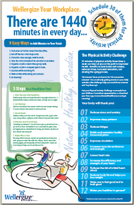 Poster: Physical Activity Challenge